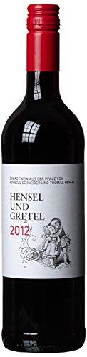 SHP Weinkooperation Markus Schneider und Thomas Pfalz Hensel und Gretel  Cabernet Sauvignon QbA 2012 trocken (1 x 0.75 l)