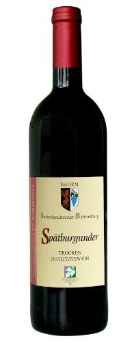 Winzerkeller Wiesloch - Lützelsachsener Rittersberg Spätburgunder Deutscher Qualitätswein trocken - 0,75 Liter